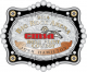 60759-10 Two-Tone Trophy Buckle
